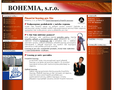 Náhled webu Bohemia, s.r.o.