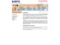 Náhled webu BPX