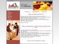 Náhled webu Robert Brand - truhlářství