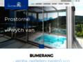 Náhled webu Bumerang – zastřešení bazénů s.r.o.