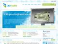 Náhled webu CAD Studio a.s.