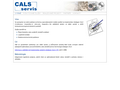 Náhled webu CALS servis s.r.o.