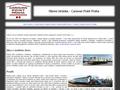 Náhled webu Caravan point Praha
