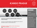 Náhled webu Cargo Prague