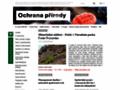 Náhled webu Časopis Ochrana přírody