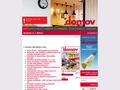 Náhled webu Časopis Domov