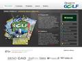 Náhled webu ČS golfový časopis
