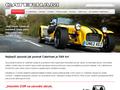 Náhled webu Dovozce vozů Caterham