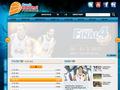 Náhled webu Česká basketbalová federace (ČBF)