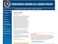Náhled webu Občanská komise za lidská práva - CCHR