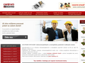 Náhled webu Centrum staveb