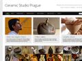 Náhled webu Ceramic Studio Prague