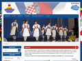 Náhled webu Česká beseda Rijeka