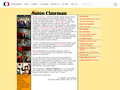 Náhled webu Salón Cimrman