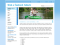 Náhled webu České řeky