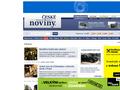 Náhled webu Pražské noviny