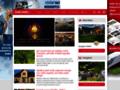 Náhled webu Encyklopedie pokojových a venkovních rostlin