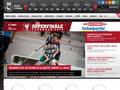 Náhled webu Česká florbalová unie