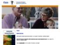 Náhled webu Česká gerontologická a geriatrická společnost