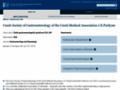 Náhled webu Česká gastroenterologická společnost