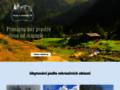 Náhled webu Databáze chaty a chalupy