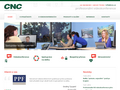 Náhled webu CNC Praha s.r.o.