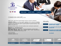 Náhled webu Connexion Groupe, a.s.