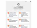 Náhled webu conVERTER