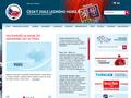 Náhled webu Český svaz ledního hokeje