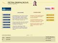 Náhled webu Petra Drápalíková