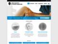Náhled webu Česká společnost tělovýchovného lékařství