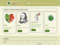 Náhled webu Česká společnost pro výživu a vegetariánství