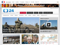 Náhled webu ČT24