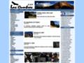 Náhled webu Las Cumbres