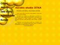 Náhled webu Aerobic studio Jitka