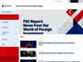 Náhled webu CzechInvest