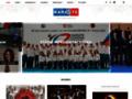 Náhled webu Český svaz karate