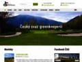 Náhled webu Český svaz greenkeeperů