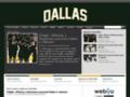 Náhled webu Dallas Stars
