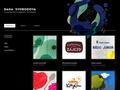 Náhled webu portfolio grafické designerky, ilustrátorky
