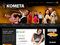 Náhled webu DanceSportPro s.r.o. - Taneční studio Kometa Brno
