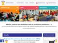 Náhled webu Dětské centrum Arpida