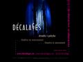 Náhled webu Décalages, divadlo v pohybu