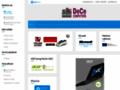 Náhled webu DeCe Computers s.r.o.