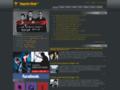 Náhled webu Depeche Mode