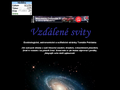 Náhled webu Vzdálené světy