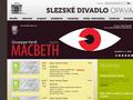 Náhled webu Slezské Divadlo Opava