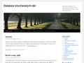 Náhled webu Databáze křesťanských děl