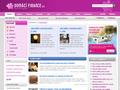 Náhled webu Finance