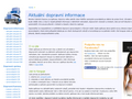 Náhled webu Monitor Dálniční Dopravy